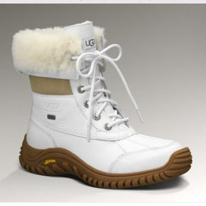 all white uggs